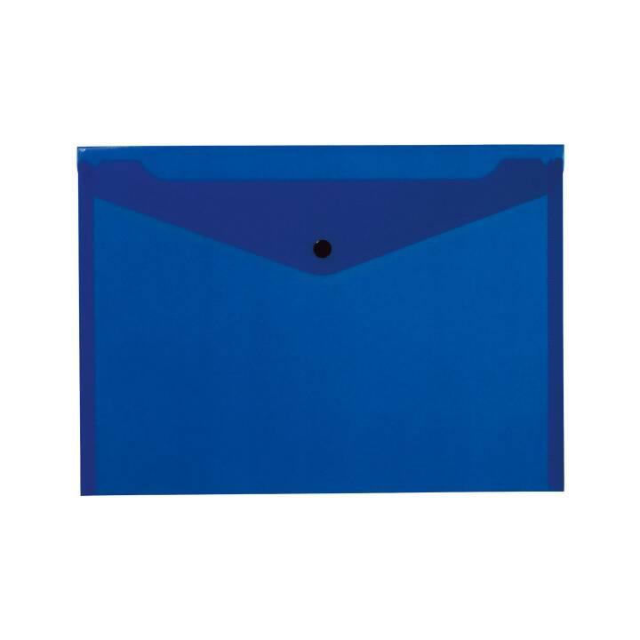 KOLMA Cartellina organizzativa Easy  (Blu, A4, 1 pezzo)