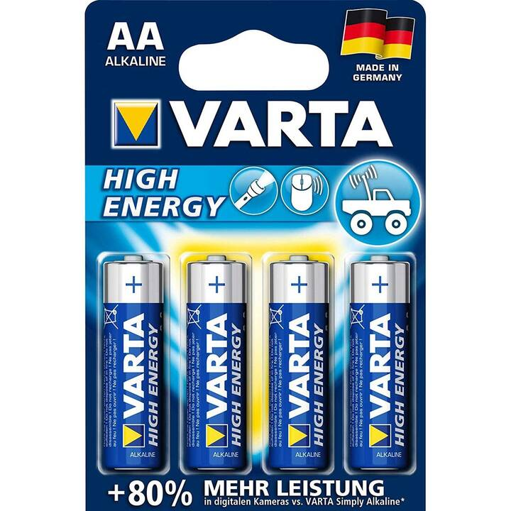 VARTA Batterie (AA / Mignon / LR6, 4 pièce)