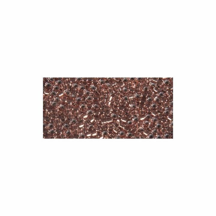 RAYHER Delica-Rocailles 1.6 mm metallic Perle (Vetro, Roségold)