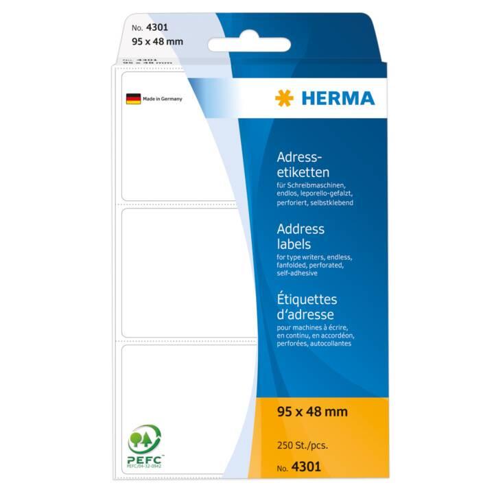 HERMA Etiketten (250 Blatt, Executive)