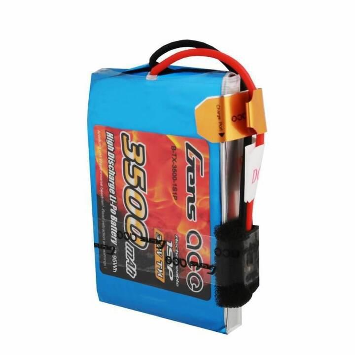 GENS ACE Accumulatore B-TX-3500-1S1P (LiPo, 3500 mAh, 3.7 V)