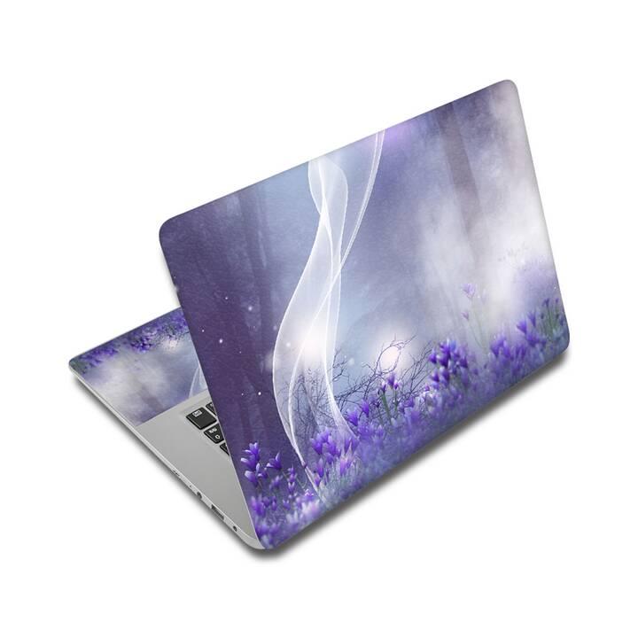 """EG adesivo per laptop 17"""" - fiori"""