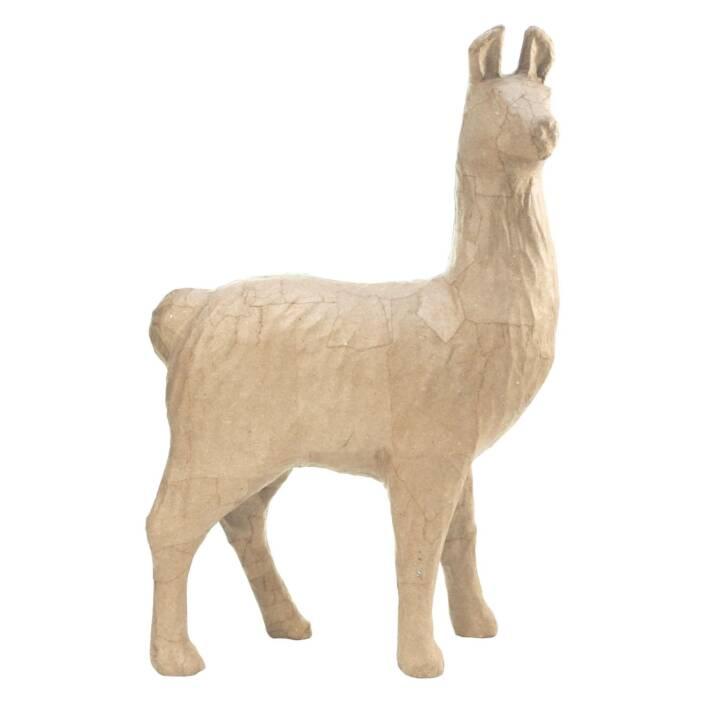 décopatch Pappfigur L Lama 24.5 x 14 x 5