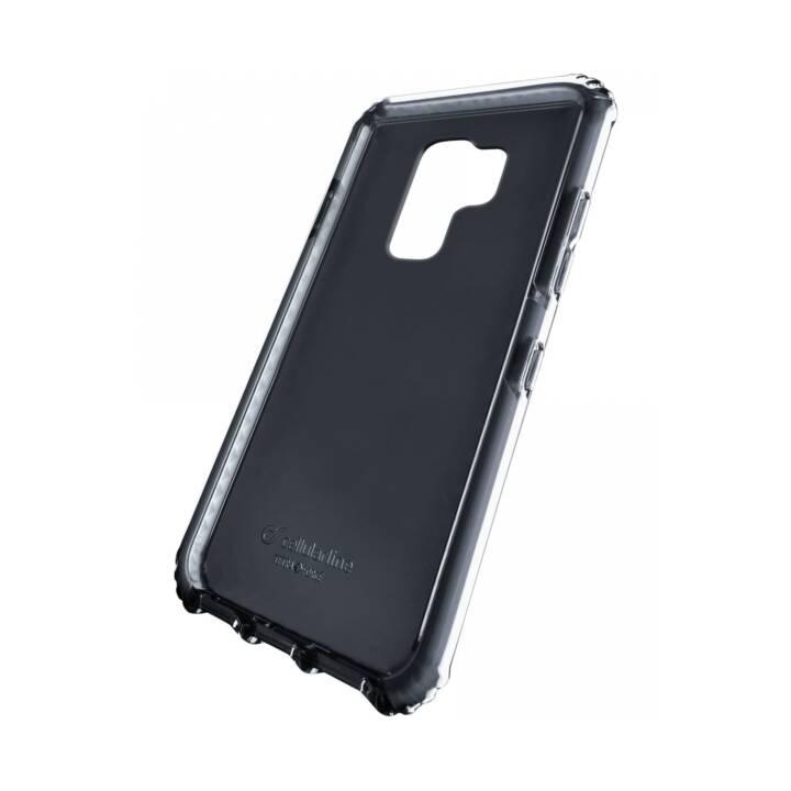 CELLULAR LINE Backcover Tetra Force Shock-Twist (Galaxy S9 Plus, Noir)