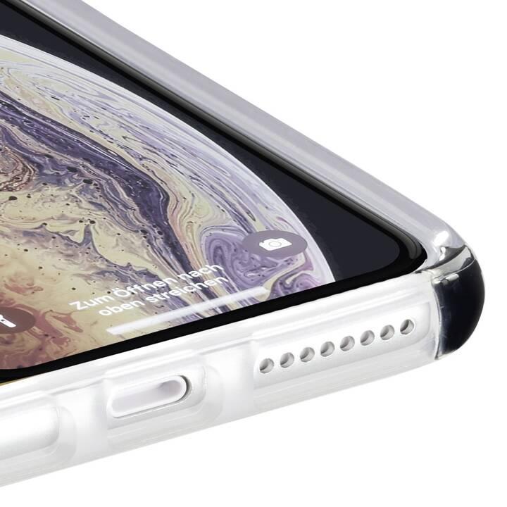 HAMA Backcover Prime Line Protector (Galaxy Note 10 Plus, Nero, Transparente)