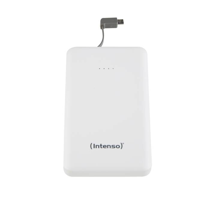 INTENSO Slim S10000 Powerbank, Blanc, 10000mAh