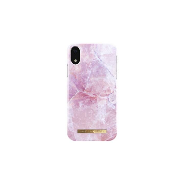 IDEAL OF SWEDEN Backcover Pilion Pink Marble (iPhone XR, Pink)
