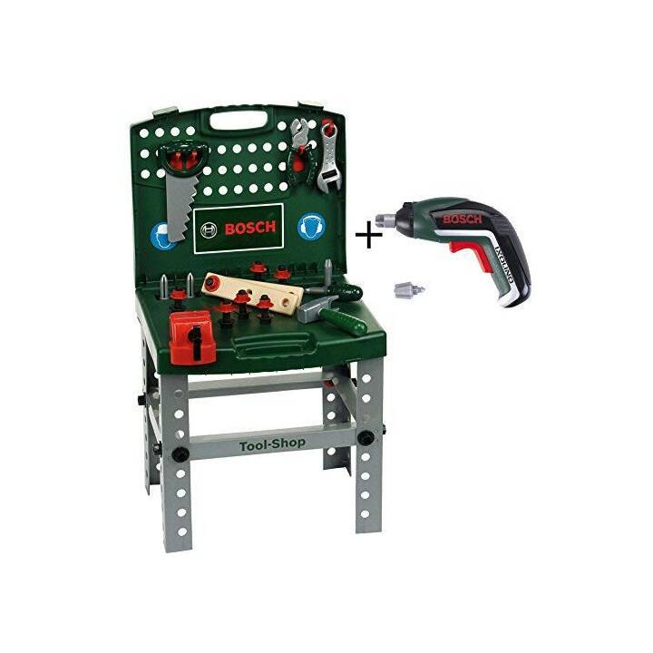 KLEIN-TOYS Workbench BOSCH Tool Shop avec Ixollino ll