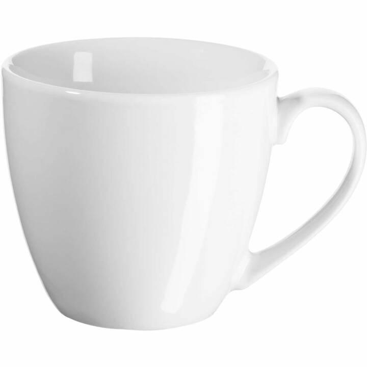 LIVIQUE Tazza da caffè Bianca (100 ml)