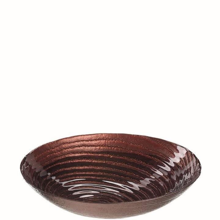 LEONARDO ciotola Castagna 32 cm marrone, 4 pezzi