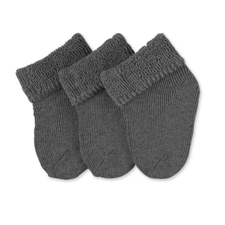 STERNTALER Babysocken 0-4 Mt (50, Anthrazit)