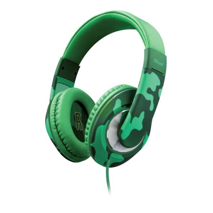 TRUST Sonin Camouflage Ohrumschließend Kopfband Kopfhörer Green