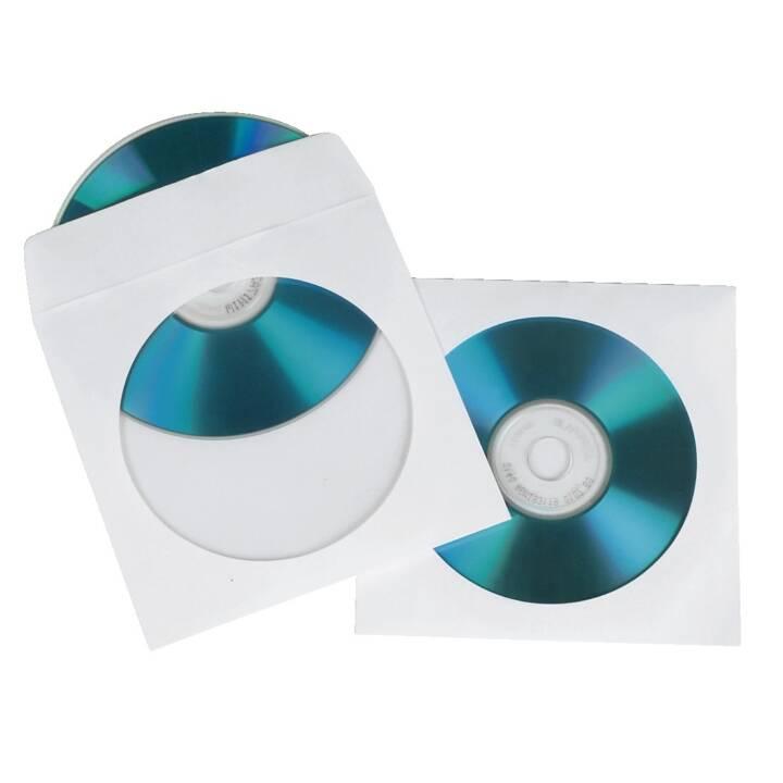 HAMA CD/DVD/BD copertine di carta, 100 pezzi