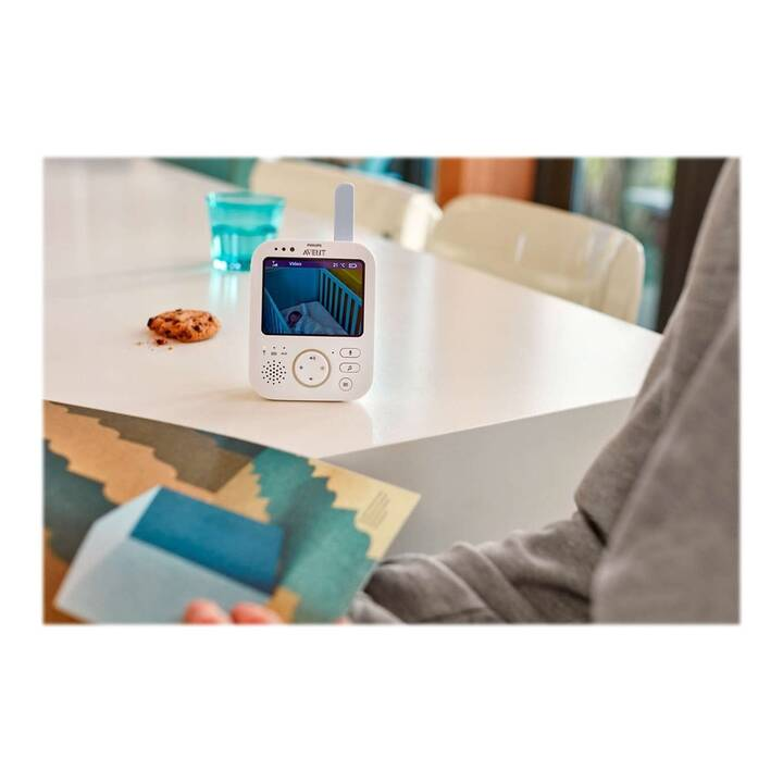 PHILIPS AVENT Baby monitor video SCD843/26 + ultra air SCF244/00