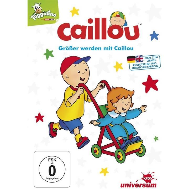 Caillou - Grösser werden mit Caillou (DE, EN)