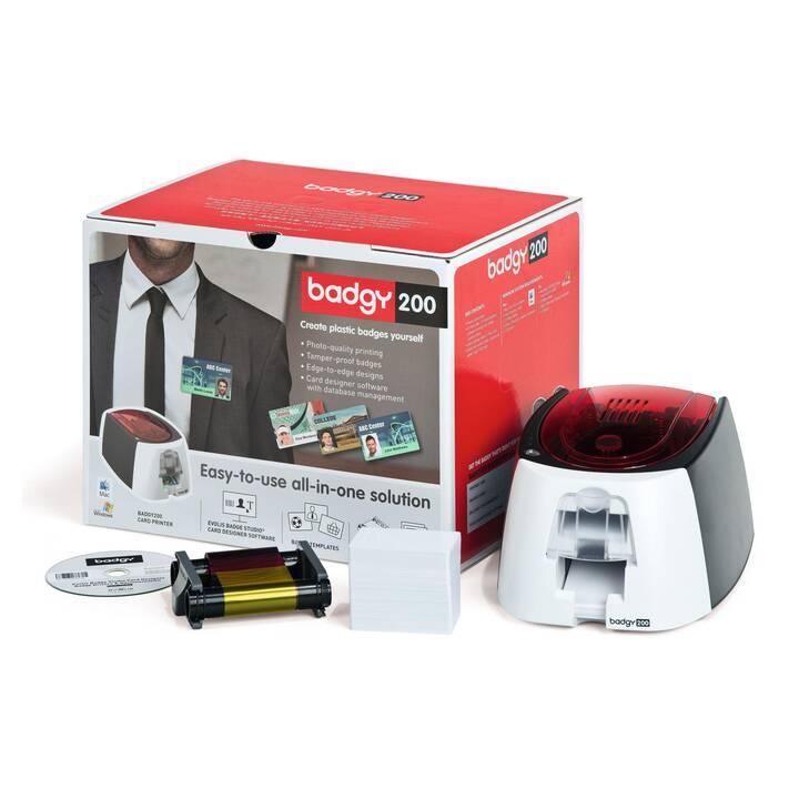 EVOLIS Badgy 200 (Imprimante pour cartes plastiques, Transmission de chaleur)
