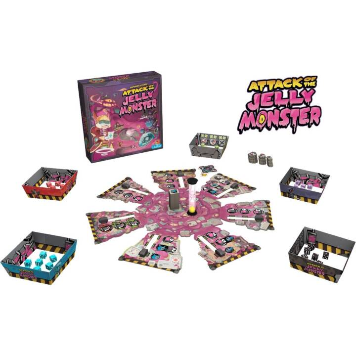 ASMODEE Attack of the Jelly Monster