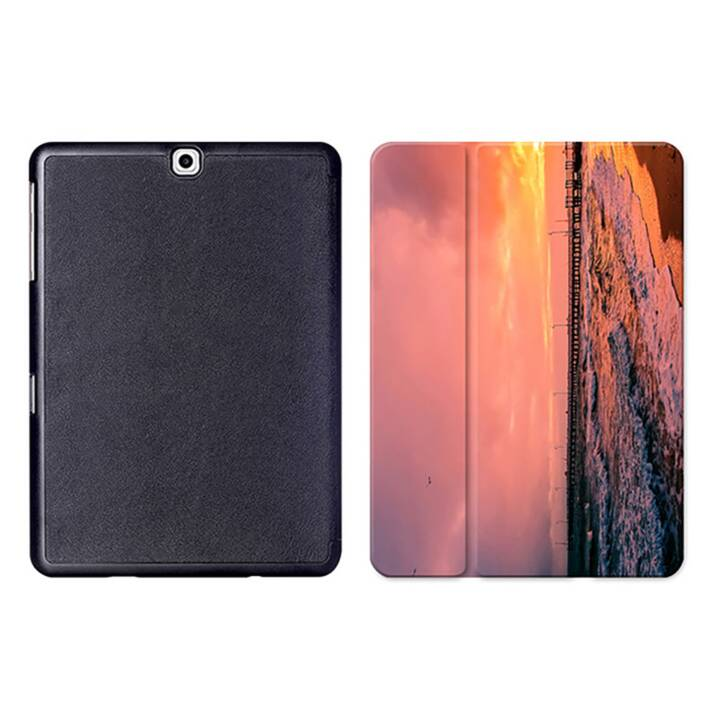 """EG MTT Tablet Tasche mit Smart faltbare Abdeckung für Samsung Galaxy Tab S2 9.7 """"- Sky"""