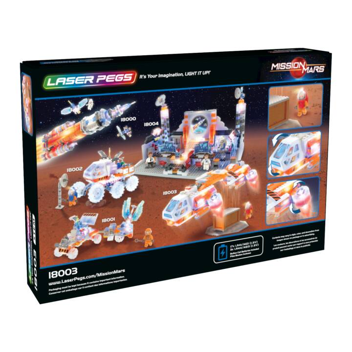 Kit de construction LASER PEGS Mars Shuttle