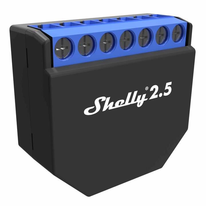 SHELLY Attuatore 2.5 WiFi-Switch (WLAN)