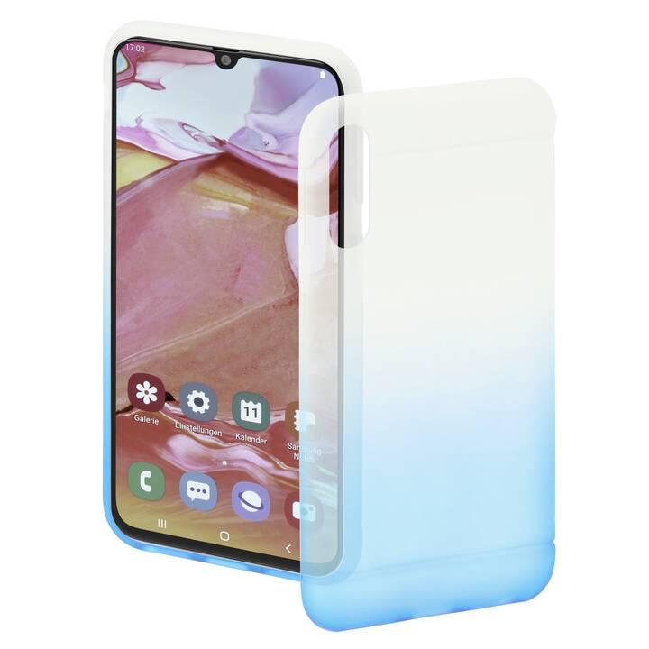 HAMA Backcover Colorful (Galaxy A70, Blu, Transparente)