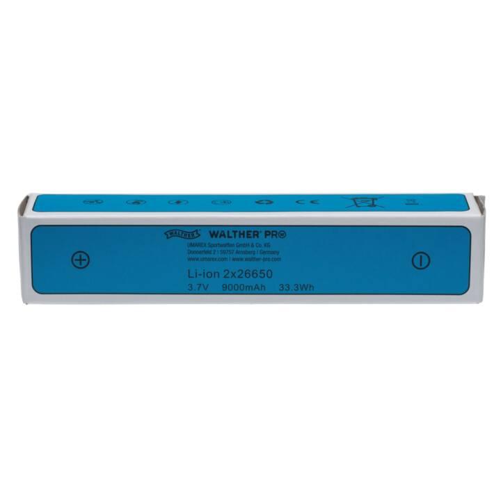 Batteria WALTHER XL7000R (10 A, 3.7 V, 9000 mAh)