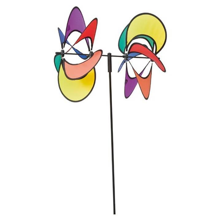 INVENTO-HQ Moulin à vent Flower Duett (Multicolore)