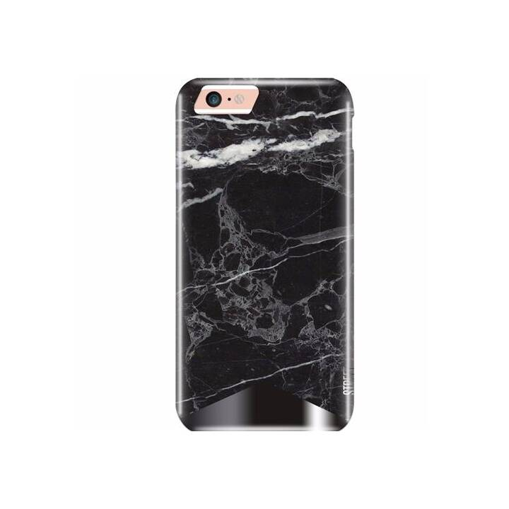 UUNIQUE Backcover Marble (iPhone 6, iPhone 6s, iPhone 7, iPhone 8, Noir, Blanc)