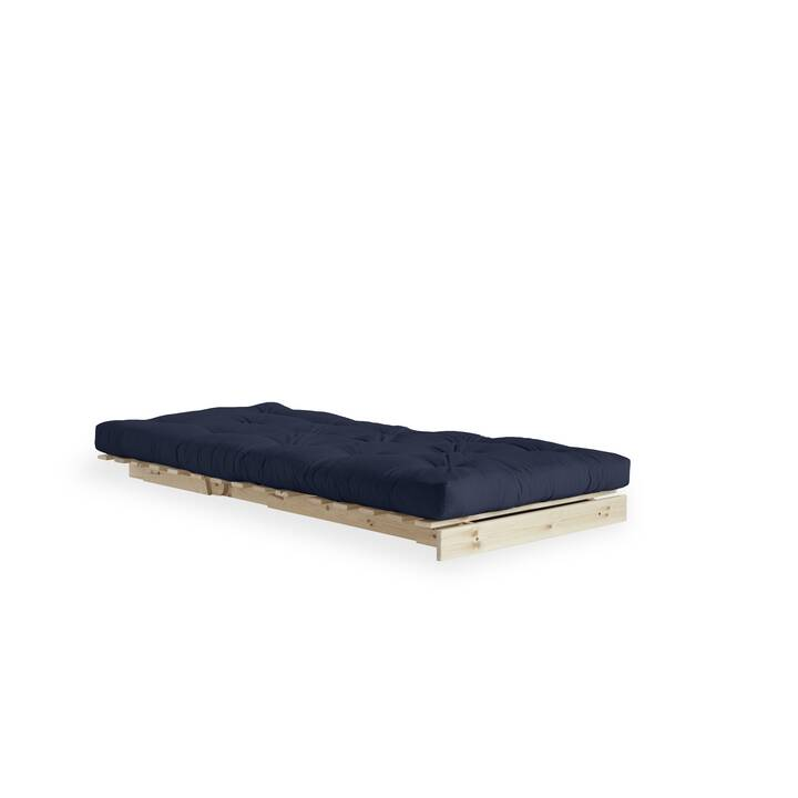 KARUP DESIGN Roots 90 Bettsofa (Polyester, Navy Blue, 90 cm x 105 cm)