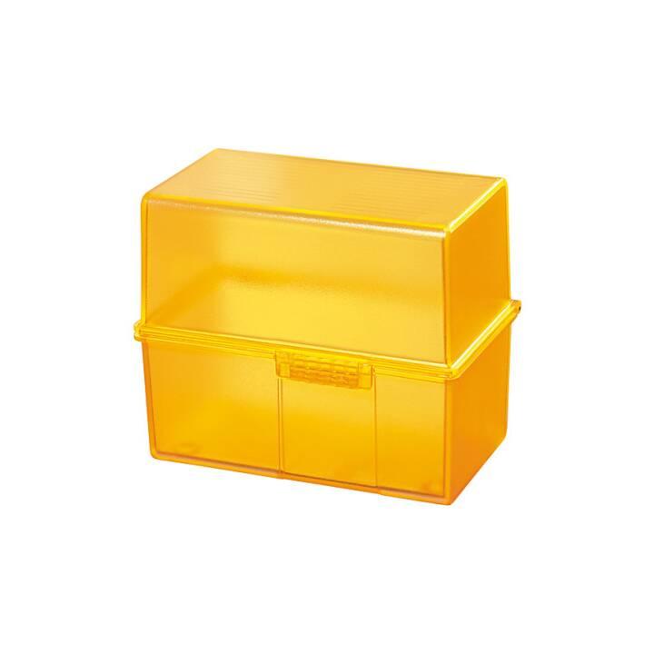 HAN Signal Boite à fiches (A8, Orange, 1 pièce)