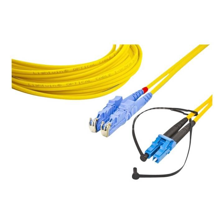 LIGHTWIN Cavo di rete (LC Single-Modus, E-2000, 1 m)