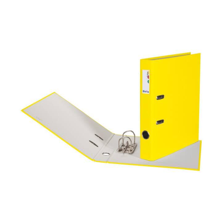 BIELLA plieuse 4cm A4 A4 jaune