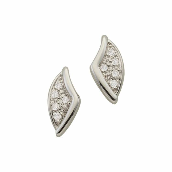 MUAU Clous d'oreilles (Diamant, 10 mm)
