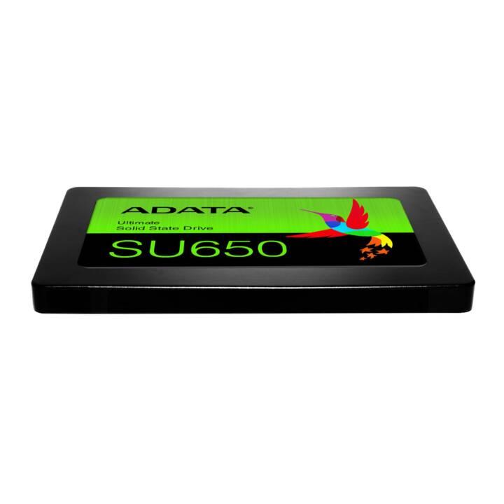 ADATA SU650, 480 GB, SSD, SATA III