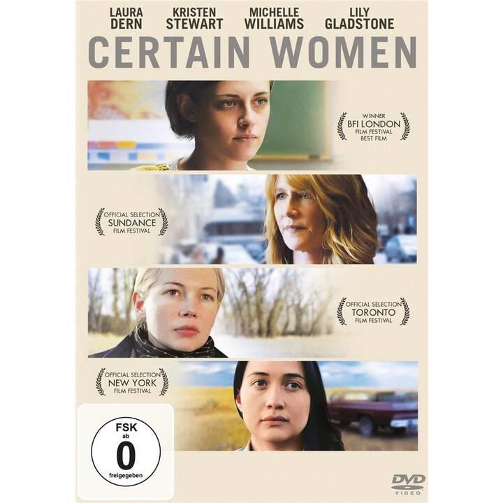 Certain Women (DE, EN, ES, TR, PL)