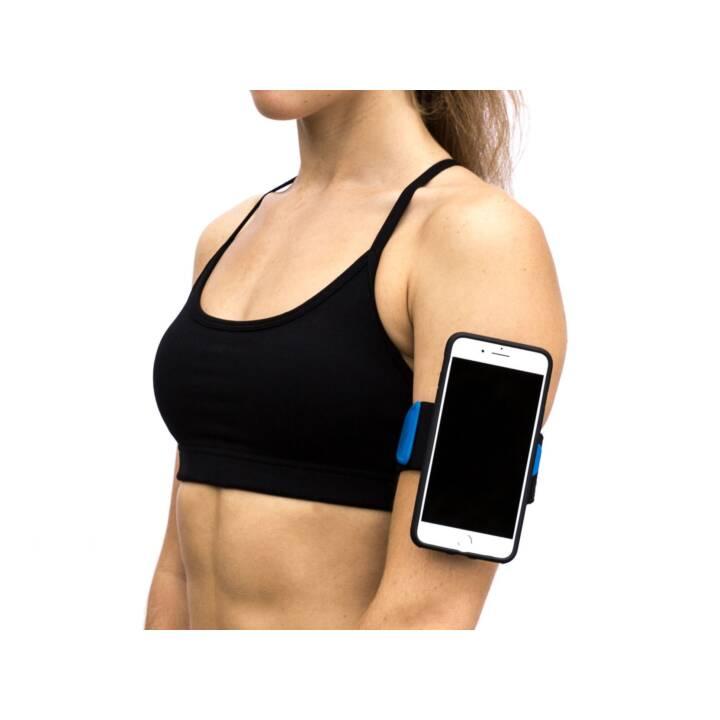 QUAD LOCK Run Kit Sport-Armband (Blau, Schwarz)