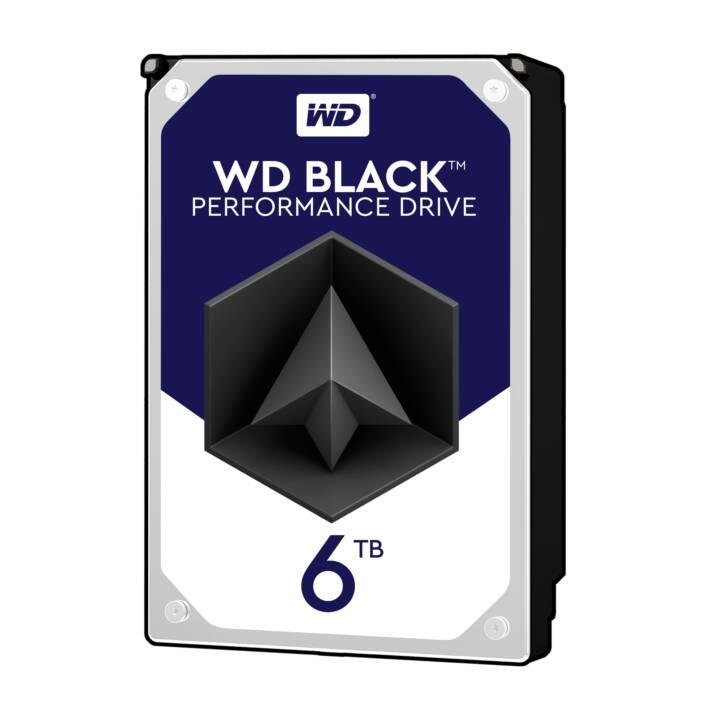 WD Black 6 TB HDD SATA 6Gb/s