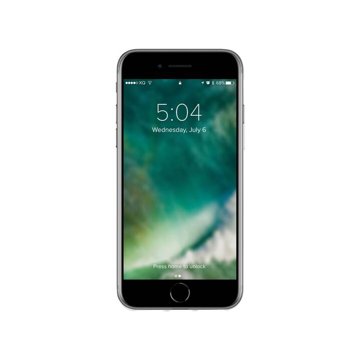 XQISIT Backcover Flex Case (iPhone SE, Transparent)