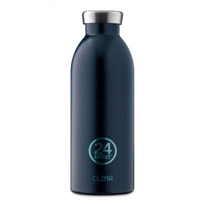 24BOTTLES Bottiglia sottovuoto Clima (0.5 l, Blu)