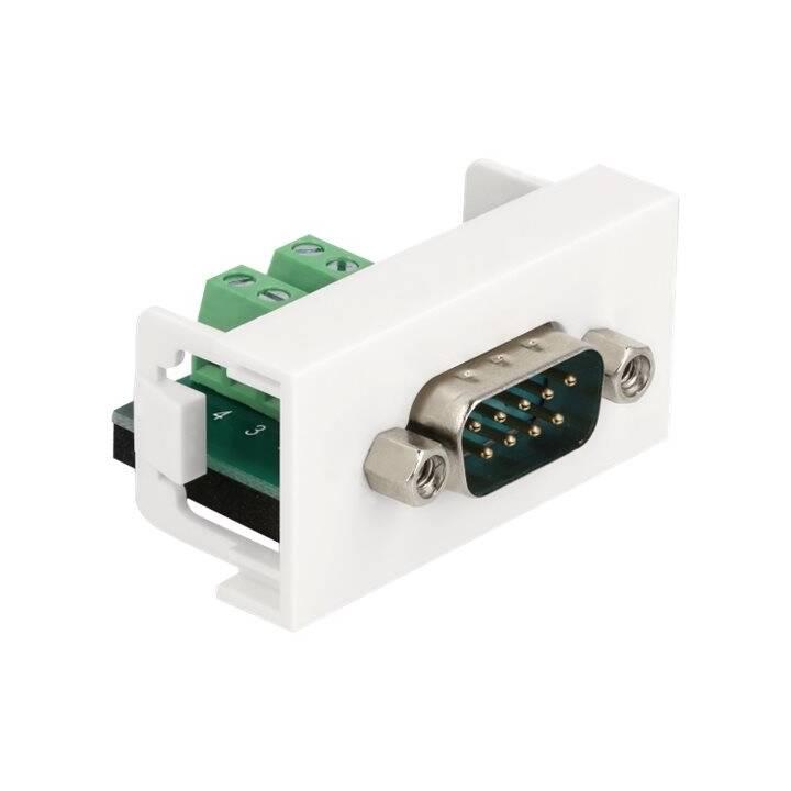 DELOCK Adapter (Terminalblock, DB-9, 0 m)