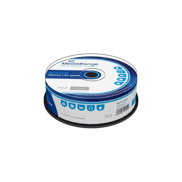 MEDIARANGE BD-R (25 GB)