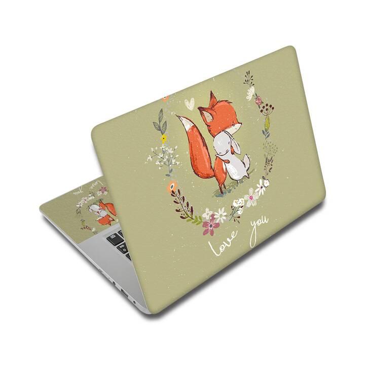 "EG adesivo per laptop 14"" - fumetto"