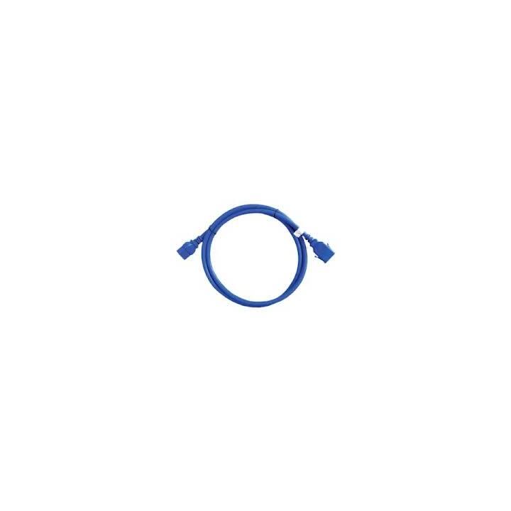 APC Câble secteur AP8716SX593 (C19 / C20, 1.8 m, Bleu)