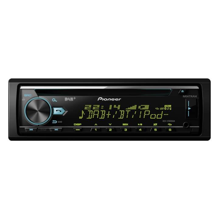 PIONEER DEH-X7800DAB (Nero, Bluetooth, incl. DAB-antenna)