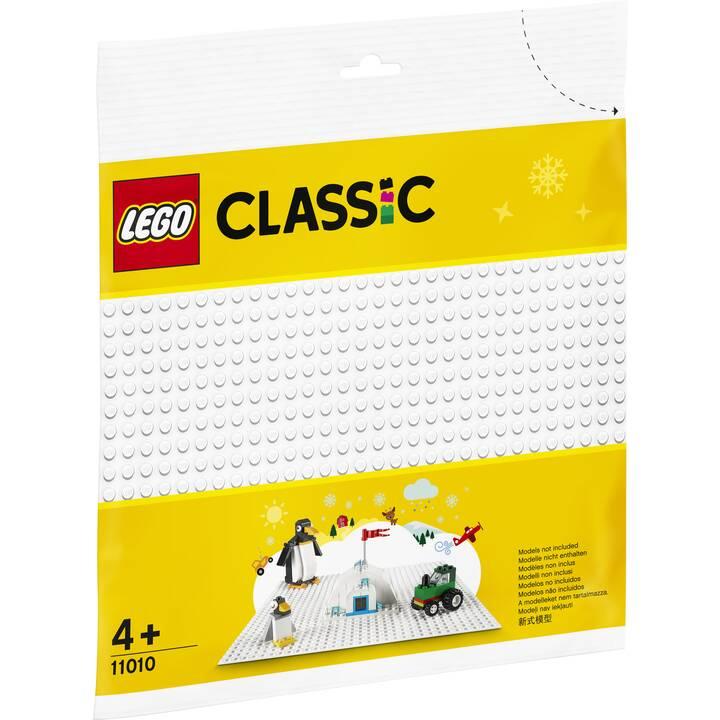 LEGO Classic Weisse Bauplatte (11010)