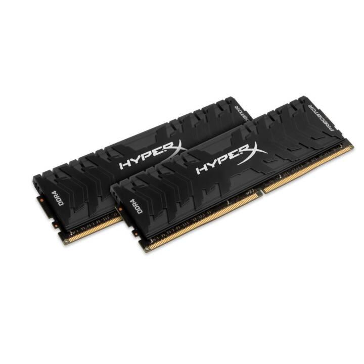 HYPERX Predator (2 x 4 Go, DDR4-SDRAM, DIMM 288-Pin)