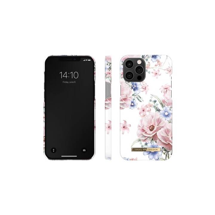 IDEAL OF SWEDEN Backcover Floral Romance (iPhone 12 Pro Max, Bianco, Rosa, Blu)
