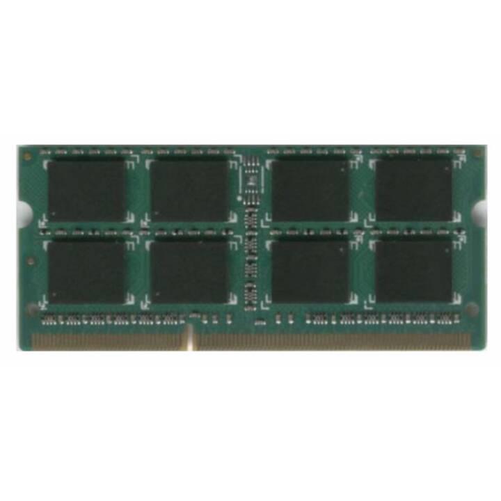 DATARAM DVM16S2L8/4G (1 x 4 Go, DDR3-SDRAM, SO-DIMM 204-Pin)