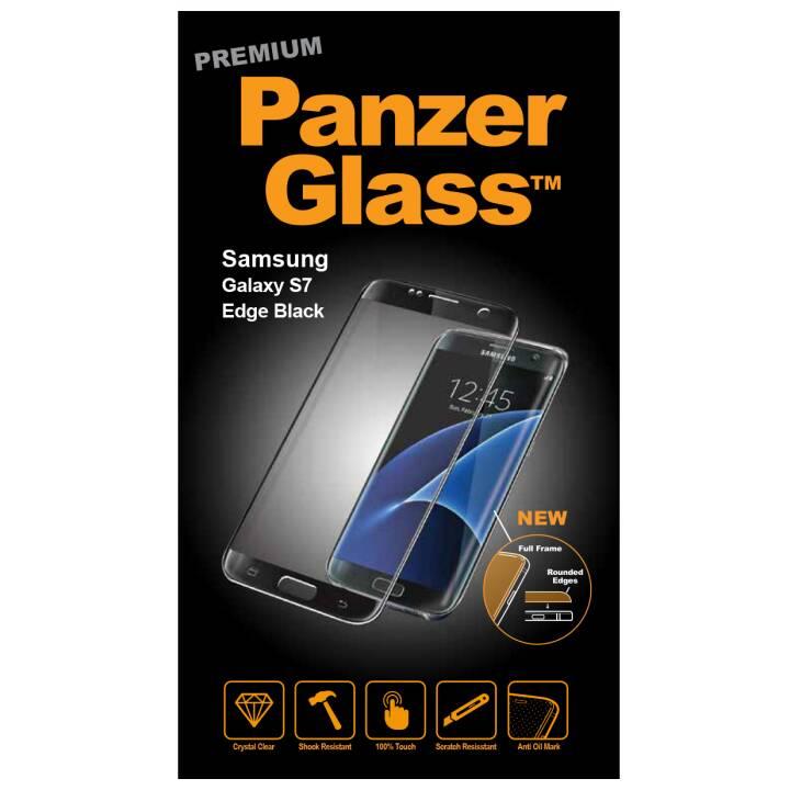 PANZERGLASS Displayschutzglas Premium Samsung Galaxy S7 Edge (Kristallklar)