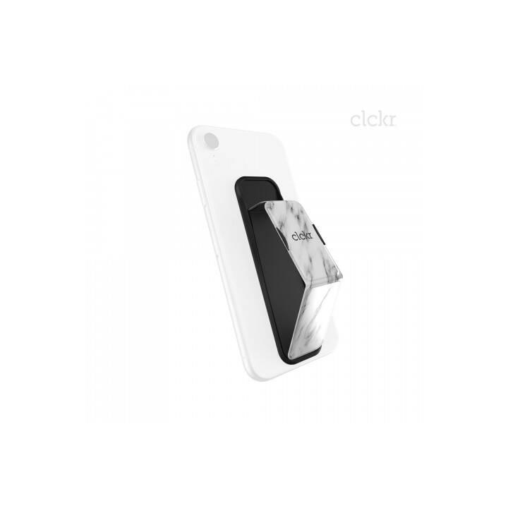 CLCKR Grip&Stand L Supporto ditta (Bianco, Nero)
